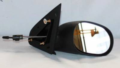 Rareelectrical - New Door Mirror Pair Fits Dodge 00-05 Neon Manual Ch1321158 Ch1320134 60518C 60541C  Ch1321158 - Image 1