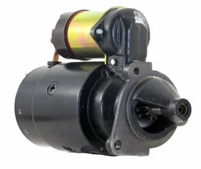 Rareelectrical - New 12V Starter Fits Chevrolet Ce50 Ce60 Te50 Te60 Te65 1967-75 1108345 1108369 1108487 1108792 - Image 1