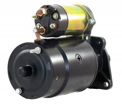 Rareelectrical - New 12V Starter Fits Chevrolet Ce50 Ce60 Te50 Te60 Te65 1967-75 1108345 1108369 1108487 1108792 - Image 2