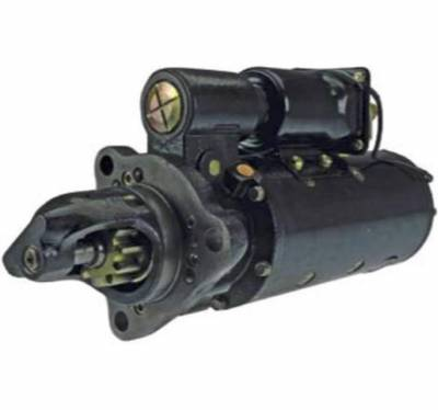 Rareelectrical - New 24V 11T Cw Starter Motor Fits Case Woodland 45R 50Lc Detroit Diesel - Image 1