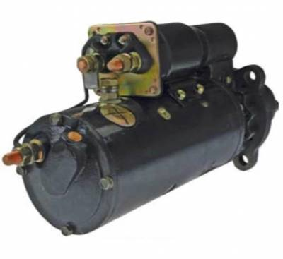 Rareelectrical - New 24V 11T Cw Starter Motor Fits Case Woodland 45R 50Lc Detroit Diesel - Image 2
