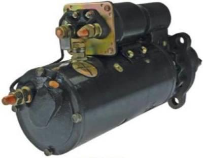 Rareelectrical - New 24V 11T Cw Starter Motor Fits Allis Chalmers Tractor Loader Tl 645 745 - Image 2