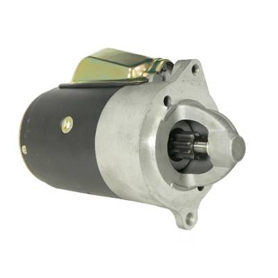 Rareelectrical - New 9 Tooth Starter Fits Jeep J-2800 1968 J-4500 1970-73 D0ff11001b C7ff-11001-B - Image 1