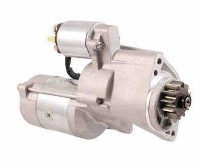 Rareelectrical - New Starter Motor Fits European Model Nissan King Cab D22 2.5L Turbo Diesel 2001-On - Image 1
