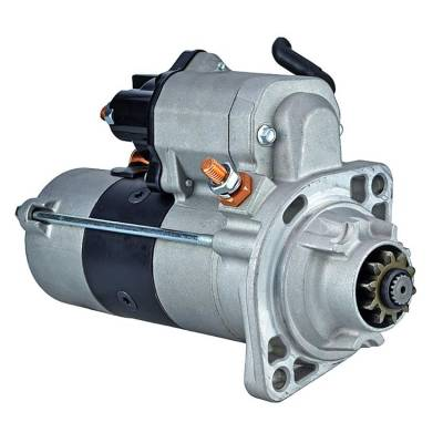 Rareelectrical - New 10 Tooth 24 Volt Starter Fits Hyster 360-36 Hd 6.7L 438000-006 438000-0060 - Image 1