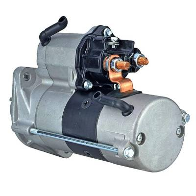 Rareelectrical - New 10 Tooth 24 Volt Starter Fits Hyster 360-36 Hd 6.7L 438000-006 438000-0060 - Image 2