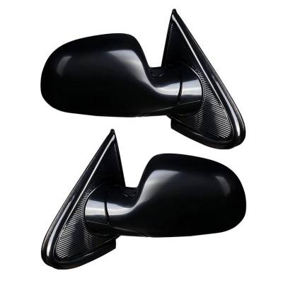 Rareelectrical - New Pair Of Door Mirrors Fits Chrysler Town & Country 01-07 4894411Ab 4894410Aa - Image 2