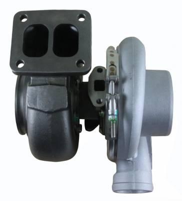 Rareelectrical - New Turbocharger Fits Peterbilt Tractor Truck 335 340 348 353 357 359 Jr909308 J919199 Jr802303 - Image 3