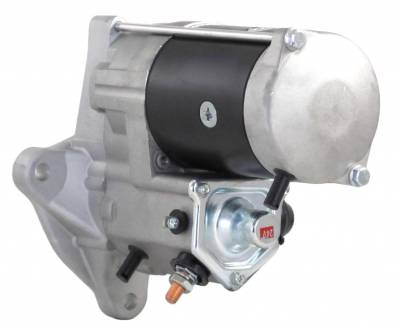 Rareelectrical - New 24V 10T Cw Starter Motor Compatible With Case Combine 8120 9120 Lrs01958 458334 99486046 - Image 2
