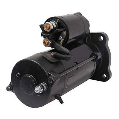 Rareelectrical - New 10 Tooth 12 Volt Starter Compatible With Claas Agricultural Tractor Axos 320 By Part Number - Image 2