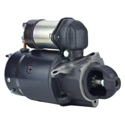 Rareelectrical - New 9T 12 Volt Starter Fits Hardin Stern Drive 454 7.4L 1970-1974 1109059 Sr528x - Image 1