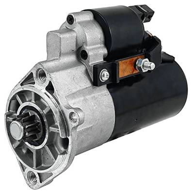 Rareelectrical - New 12 Volt 9 Tooth Starter Compatible With Volkswagen Europe Lt 2500 2001 By Part Number 1125501 - Image 1