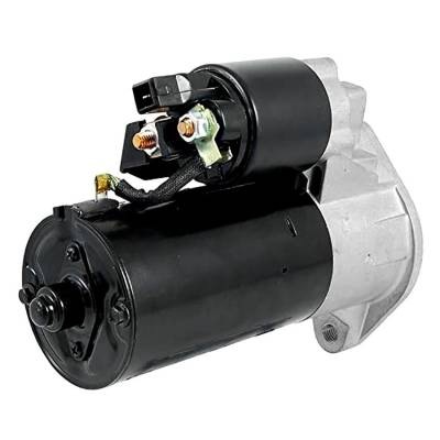Rareelectrical - New 12 Volt 9 Tooth Starter Compatible With Volkswagen Europe Lt 2500 2001 By Part Number 1125501 - Image 2
