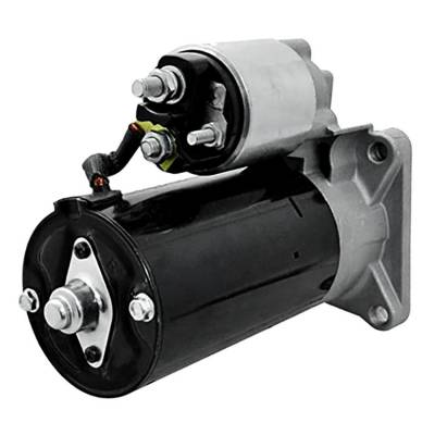 Rareelectrical - New 12 Volt 9 Tooth Starter Compatible With Alfa Romeo Europe 145 1998-2001 By Part Number 1109045 - Image 2