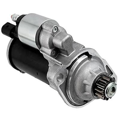 Rareelectrical - New 12 Volt 13 Tooth Starter Compatible With Volkswagen Jetta 2019 By Part Number 0001179502 1179503 - Image 1