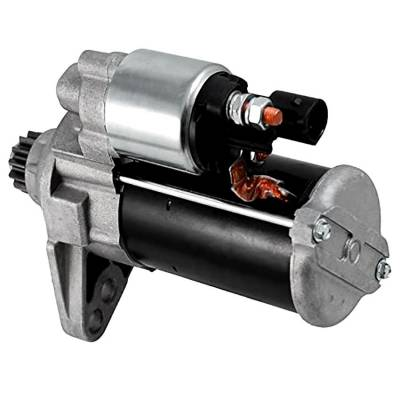 Rareelectrical - New 12 Volt 13 Tooth Starter Compatible With Volkswagen Jetta 2019 By Part Number 0001179502 1179503 - Image 2