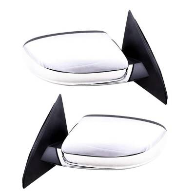 Rareelectrical - New Pair Of Door Mirrors Fits Chrysler 200 Limited 2011-14 68081541Ad 68081540Ad - Image 2