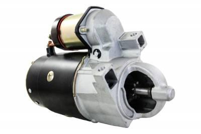 Rareelectrical - Starter Motor Fits Omc Marine Engine 2.5 3.0 3.8 4.3 5.0 5.7 50-99417A2 5079823A1 50-69864A1 - Image 1