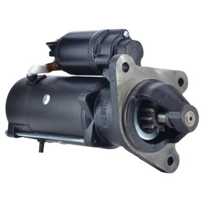 Rareelectrical - New 12V 10 Tooth Starter Fits Ford Tractor 7000 7810 7910 8210 8730 8830 Ms368 - Image 1