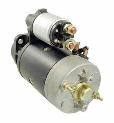 Rareelectrical - New Starter Motor Fits Steyr Tractor 8060 1980-On 0001362072 31100090017 11.130.709 - Image 2
