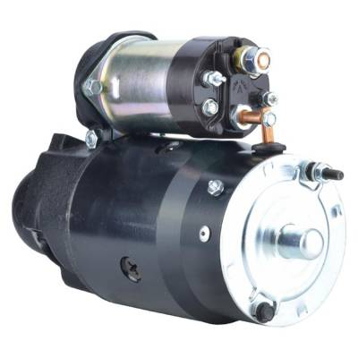 Rareelectrical - New 12V 9 Tooth Starter Fits Gmc G15/G1500 G25/G2500 4.6L 1967 1108788 1108775 - Image 2