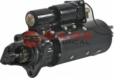 Rareelectrical - New Starter Motor Fits Industrial 24V Ccw 1114922 1114952 1114792 1114840 1990210 1114952 - Image 1