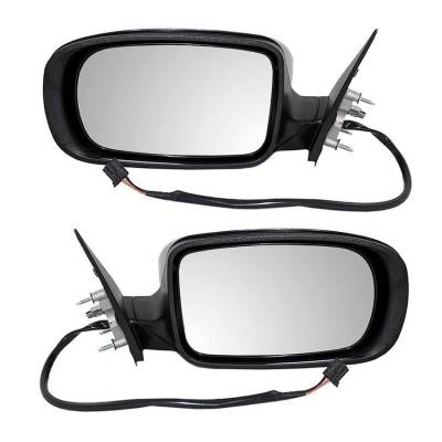 Rareelectrical - New Pair Of Door Mirrors Fits Chrysler 300 Srt8 Core 2013 1Tk86axrag 1Tk87axraf - Image 1