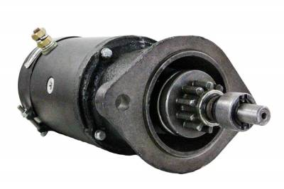 Rareelectrical - New 6 Volt Starter Motor Fits 1947 1948 1949 1950 1951 1952 Jeep Willys Mz4199 4629 - Image 1