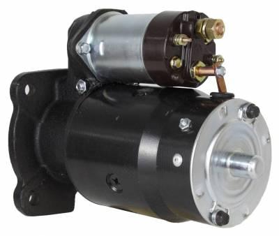 Rareelectrical - New 12V 10T Starter Motor Compatible With Massey Ferguson Lift Truck Mf-2500 Mf-4000 1108379 1108379 - Image 2