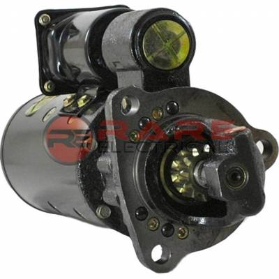 Rareelectrical - New Starter Motor Fits Industrial Engines 1963-1982 6V-53 Detroit Diesel 1114077 - Image 1