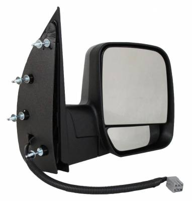 TYC - New Rh Door Mirror Fits Ford 03-07 Econoline Super Duty Dual Glass Puddlelight Fd95er Fo1321276 - Image 1