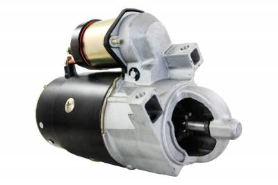 Rareelectrical - New 12 Volts 9 Teeth Starter Motor Fits Mercruiser Stern Drive 120 140 165 185 200 50-69864A1 - Image 1