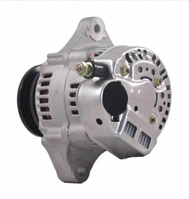 Rareelectrical - New 40 Amp Chevy Mini Alternator Fits 8162 Type Denso Street Rod Race 1-Wire Richmond - Image 2