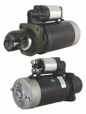 Rareelectrical - New 24 To 12 Volt Alternator And Starter Kit Fits John Deere Tractor 3020 Ty16172 Ts-8000 Ty16172 - Image 3